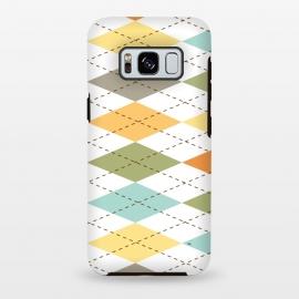 Galaxy S8 plus  Modern diamond pattern by  (modern,graphic,geometric,pattern,diamond,colorful,autumn)