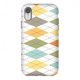 iPhone Xr  Modern diamond pattern by