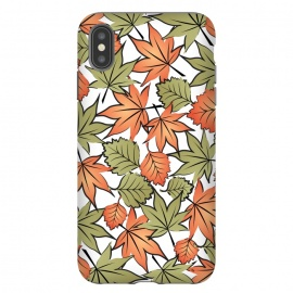 iPhone Xs Max  Autumne leaves pattern by Martina