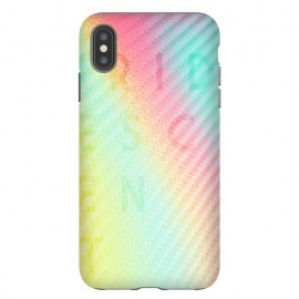 iPhone Xs Max  Carbon Iridescent by Carlos Maciel