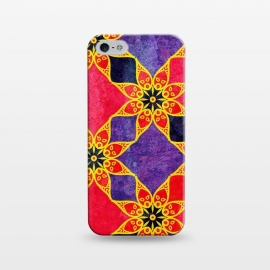 iPhone 5/5E/5s  Mandala 57 by Rossy Villarreal
