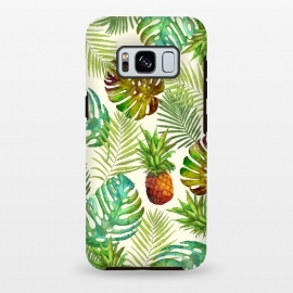 Pineapple and Monstera by Creativeaxle