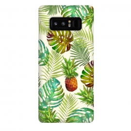 Galaxy Note 8  Pineapple and Monstera by Creativeaxle