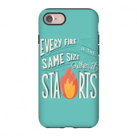 iPhone 8/7  Every fire is the same size when it starts by Jelena Obradovic