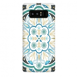 Galaxy Note 8  Boho Medallion by TracyLucy Designs (boho ,medallion ,floral,nature,illustration)