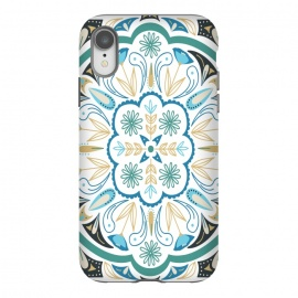 iPhone Xr  Boho Medallion by  (boho ,medallion ,floral,nature,illustration)