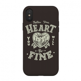 iPhone Xs / X  Follow Heart by