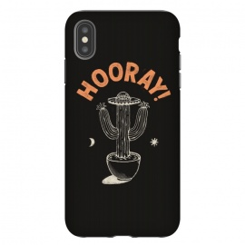 iPhone Xs Max  Hooray! by Tatak Waskitho (nature,inspiration,lettering,type,cactus,sun,outdoor)