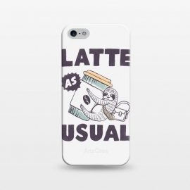 iPhone 5/5E/5s  Latte as usual by