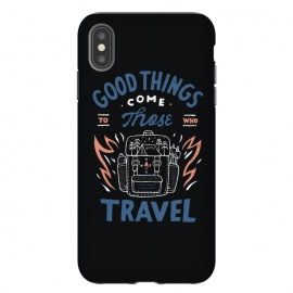 iPhone Xs Max  Good Things by Tatak Waskitho (travel,outdoor,adventure,forest,mountain,quote,quotes,inspirational,typo,lettering,type)