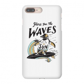 The Waves by Tatak Waskitho (surf,surfing,beach,summer,penguin,lettering,typo,quote)