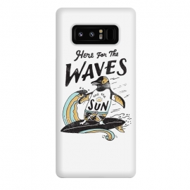 Galaxy Note 8  The Waves by  (surf,surfing,beach,summer,penguin,lettering,typo,quote)