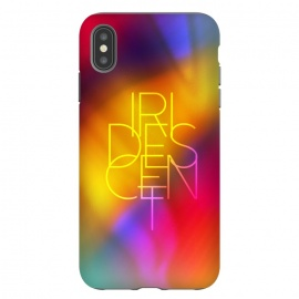 iPhone Xs Max  Iridescent 3 by Carlos Maciel