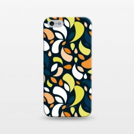 iPhone 5/5E/5s  multicolored leaf shapes by TMSarts