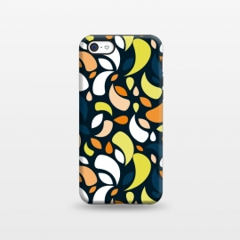iPhone 5C  multicolored leaf shapes by TMSarts
