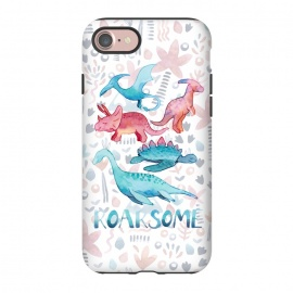 iPhone 8/7  Roarsome Dino's by gingerlique