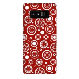 Galaxy Note 8  Crazy White Dots by Majoih