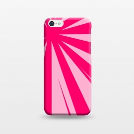 iPhone 5C  pink lines pattern 2 by MALLIKA