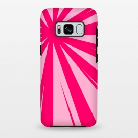 Galaxy S8 plus  pink lines pattern 2 by