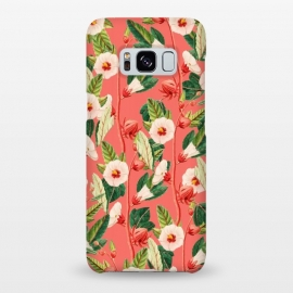 Galaxy S8+  Desire by Uma Prabhakar Gokhale (pattern, expressionism, nature, floral, botanical, tropical, coral, blossom, bloom, exotic)
