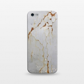 iPhone 5/5E/5s  Rust Cracks On Metal Surface by Andrea Haase