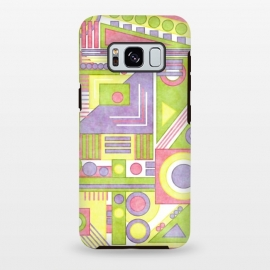 Galaxy S8 plus  Construct by  (abstract,geometric,shapes)
