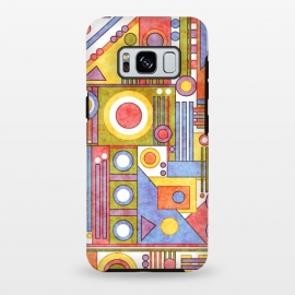 Galaxy S8 plus  Flip by  (abstract,geometric,shapes)