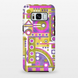 Galaxy S8 plus  Slope v2 by  (geometric,abstract,shapes)