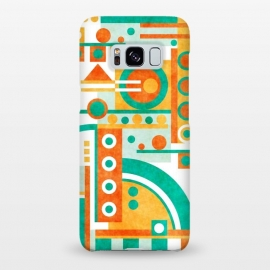 Galaxy S8+  Slope by Shelly Bremmer (abstract,geometric,shapes)