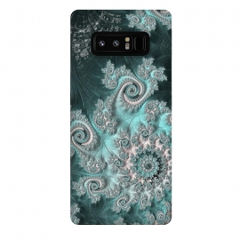 Galaxy Note 8  Swirly magical fractal by Andrea Haase