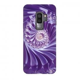 Galaxy S9 plus  Purple Fractal Fantasies by  (design, illustration, texture, fantasy, fractal, abstract, background, graphic, colorful, pattern, digital, backdrop, wallpaper, generated, magic, art, computer, render, mathematics, dream, creative, artwork, energy, fractals, fractal background, surreal, science, imagination, infinite, curls, fanta)