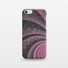 iPhone 5C  Pink Fractal Design by Andrea Haase