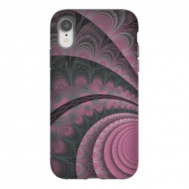 iPhone Xr  Pink Fractal Design by Andrea Haase