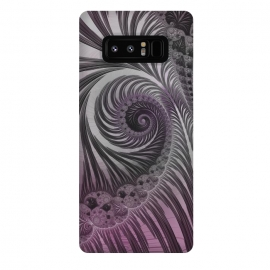 Galaxy Note 8  Swirly Fractal Fantasies by Andrea Haase