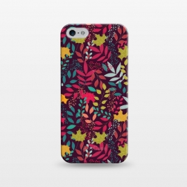 iPhone 5/5E/5s  Autumn seamless pattern by Jelena Obradovic