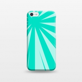 iPhone 5C  SEA GREEN LINES  by MALLIKA