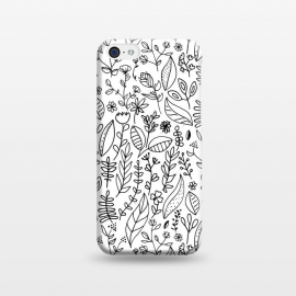 iPhone 5C  Nature Doodle  by Tigatiga