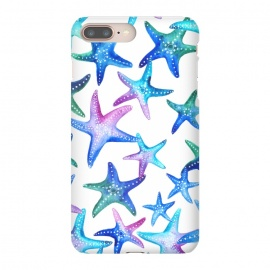 Watercolour Starfish Pattern by Becky Starsmore
