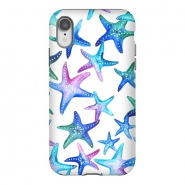 iPhone Xr  Watercolour Starfish Pattern by