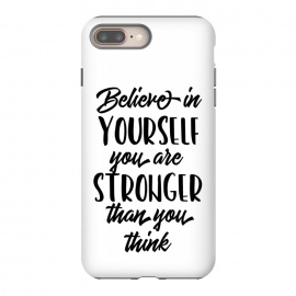 Believe in Yourself Folks by allgirls (believe in yourself, black and white, quote, inspirational, motivational,typography, calligraphy,text,wrodings,sayings,trending)
