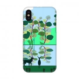 iPhone X  Forest Landscape by allgirls