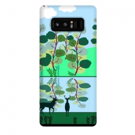 Galaxy Note 8  Forest Landscape by allgirls