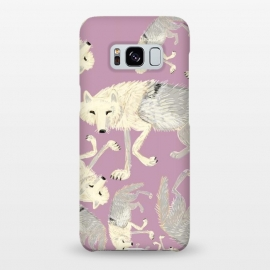 Galaxy S8+  Artic Wolf lilac by Belette Le Pink