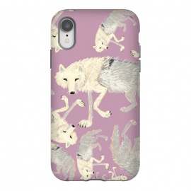 iPhone Xr  Artic Wolf lilac by Belette Le Pink