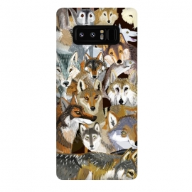 Galaxy Note 8  Time to wolf by Belette Le Pink