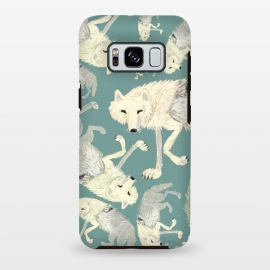Galaxy S8+  Artic Wolf turquoise by Belette Le Pink