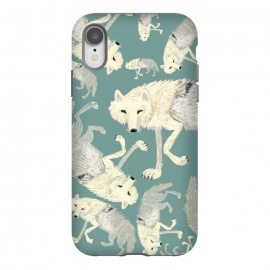 iPhone Xr  Artic Wolf turquoise by Belette Le Pink