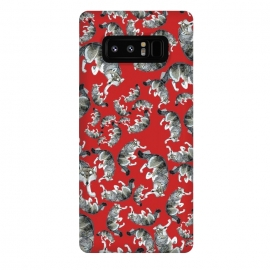 Galaxy Note 8  Hokkaido wolf red by Belette Le Pink