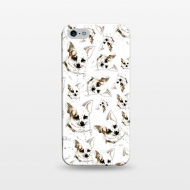 iPhone 5/5E/5s  Chihuahua pattern by