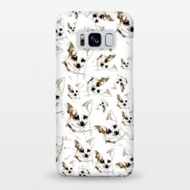 Galaxy S8+  Chihuahua pattern by Belette Le Pink